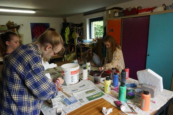 Annettes Atelier, Mal. u. Kreativkurse für Kinder ...
